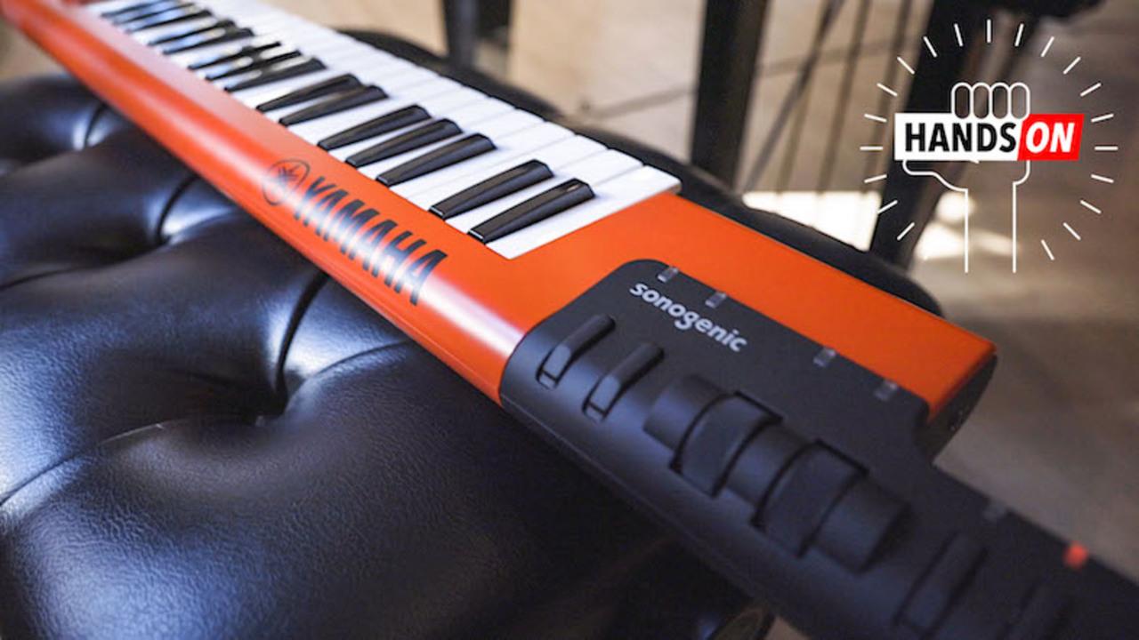 ヤマハのショルダーキーボード ハンズオン:ど素人でも、とにかく楽しく演奏できる!