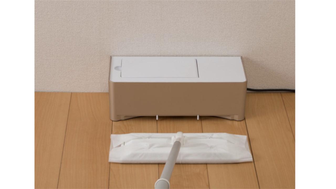 フロアワイパー専用の「電気ちりとり」で掃除を効率化してみない?