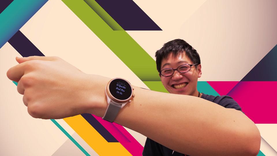 QnA VBage 【プレゼントします!】恋に落ちるスマートウォッチ「FOSSIL Sport Smartwatch」