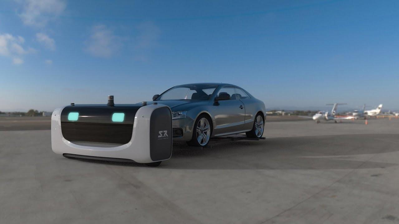 空港に車をピシッと停めてくれるロボットが登場予定