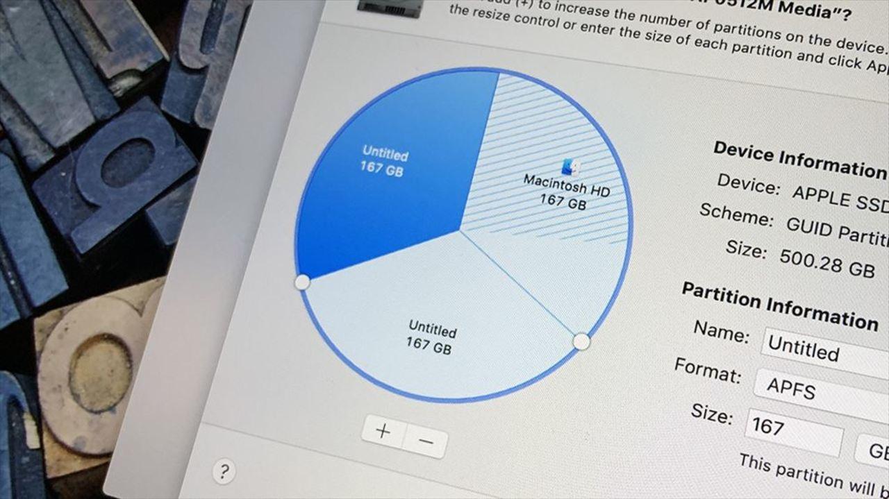 macOSとWindowsを1台で使いたい!デュアルブートに使える「パーティション分割」の方法