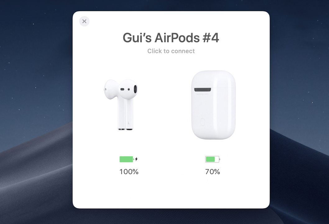 AirBuddyなら、MacでもAirPodsが快適に使える