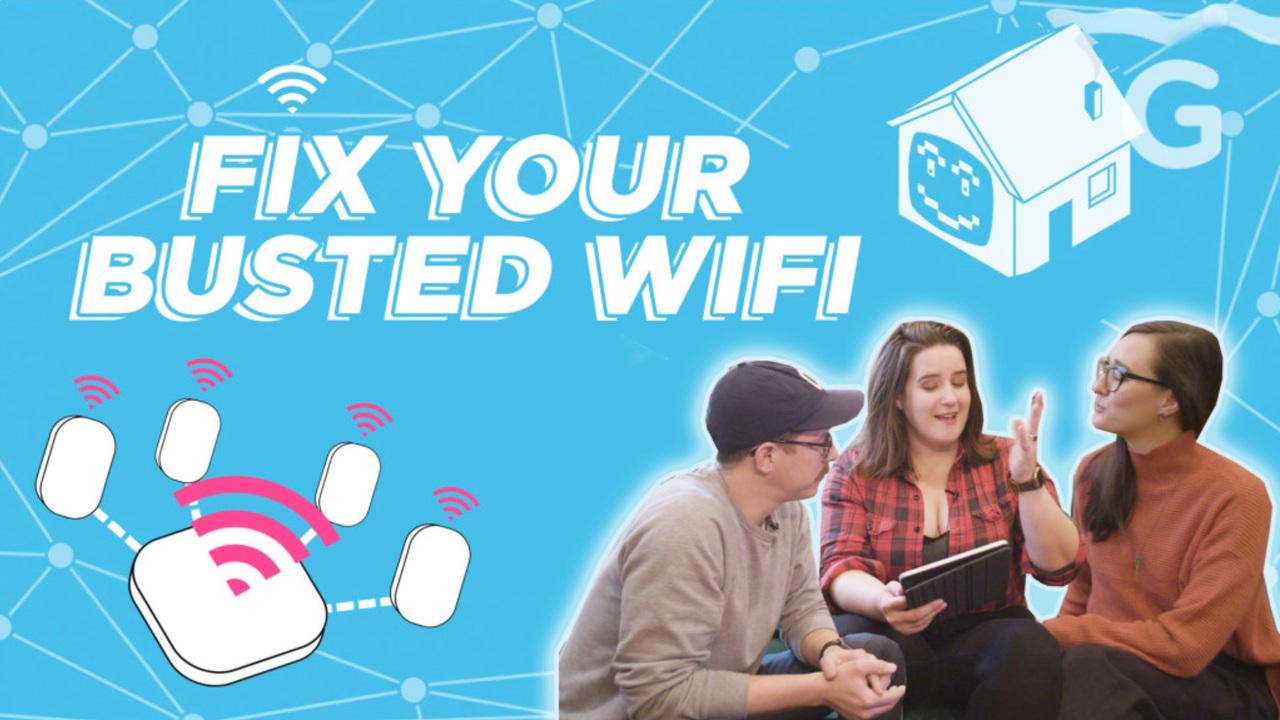 家のWi-Fiを快適にする3つのステップ:つながらない、遅いWi-Fiとはさようなら