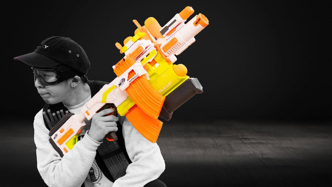 【プレゼントします!】日本で買える一番大きいナーフ銃!