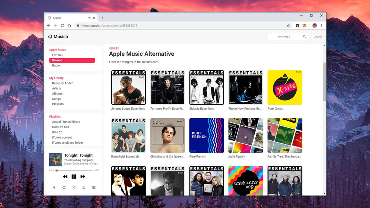 Apple MusicをWebから再生する便利なサービスがあるみたい