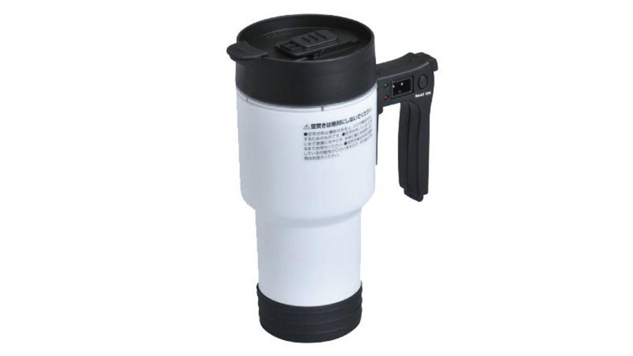 長距離ドライブや車中泊に便利。シガーソケットでお湯を沸かせるセイワの車用ポット