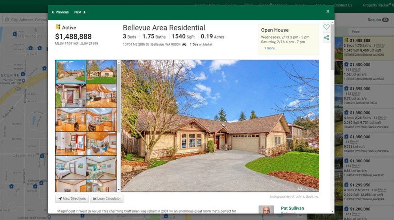 ベゾスがアマゾンを始めた家、買えます