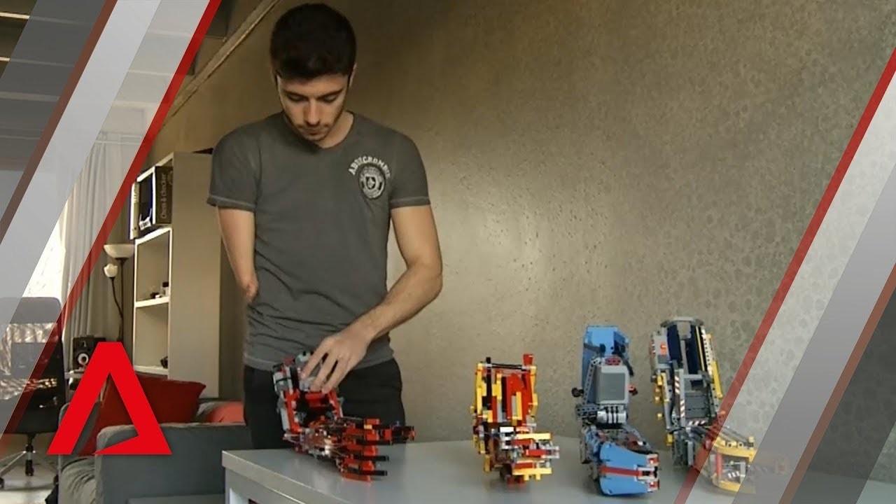 レゴで自分の義手を作ったレゴ・ビルダー