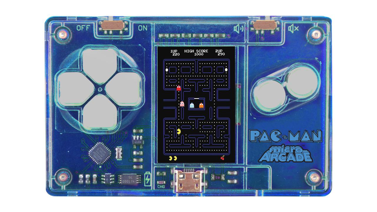 これはときめく。パックマンができるクレカ大のゲーム機
