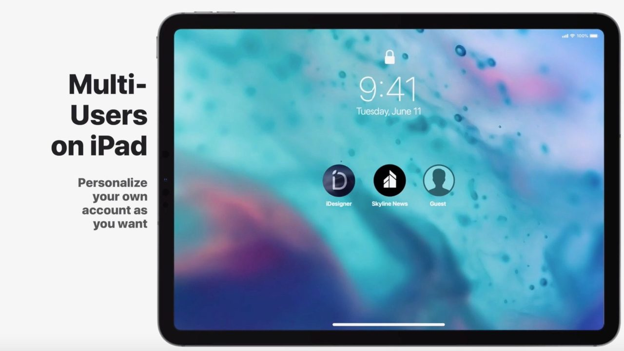 iOS 13はiPad Pro向け専用機能を搭載する?