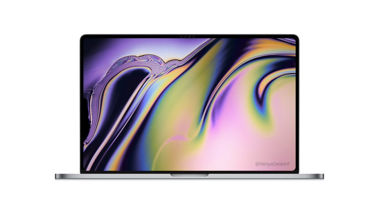 16インチのMacBook Pro、こんなスタイルになるかも…?