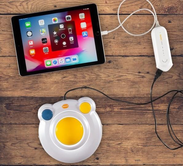 みんな!これならiPadでマウスが使えるぞー!