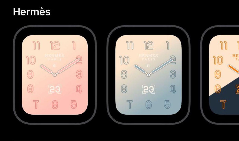 これがApple Watch Hermèsの新ウォッチフェイスだ