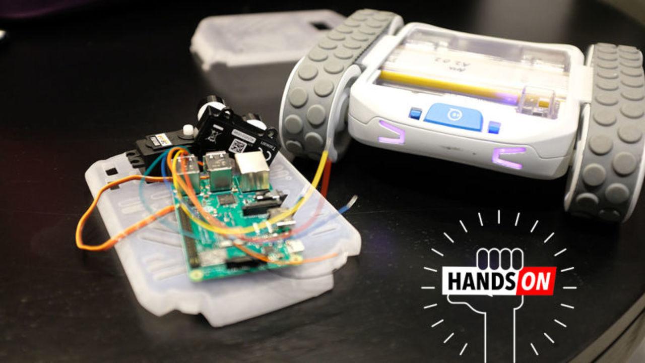 Sphero RVRハンズオン:ロボットのカスタマイズが始まる
