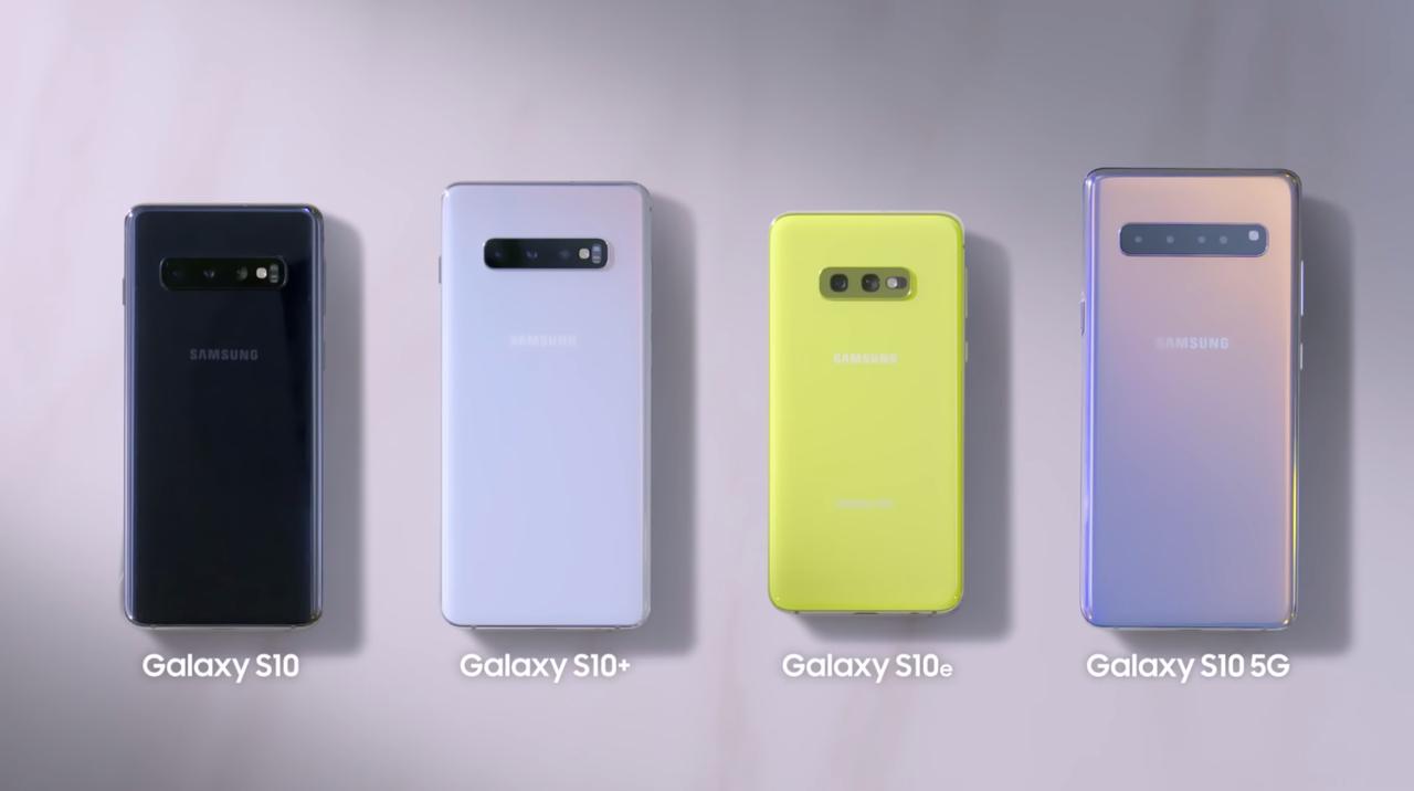本日発表のGalaxy S10シリーズ全4機種まとめ!