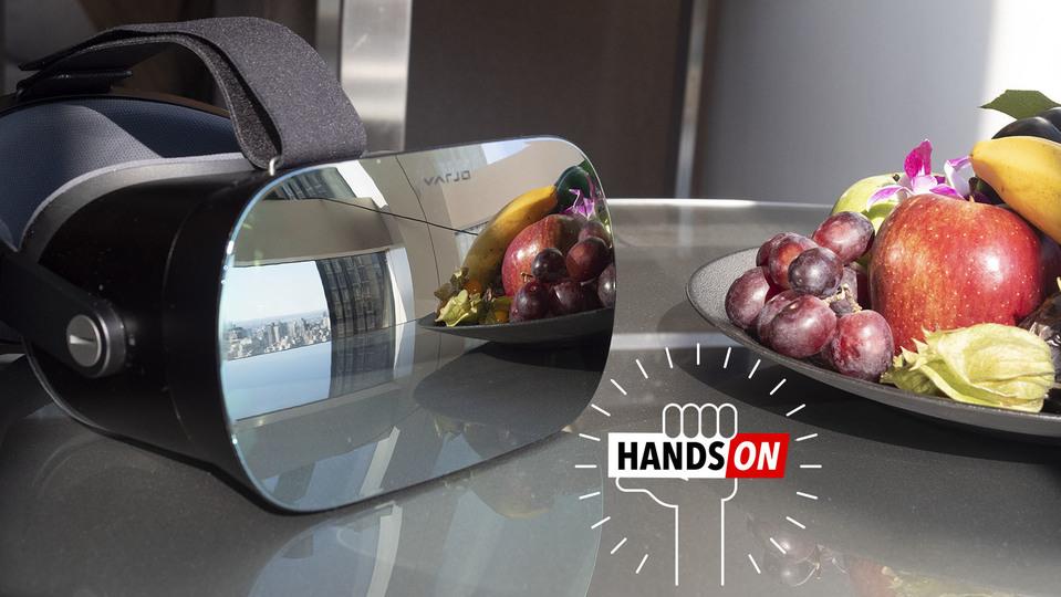 「人間の目の解像度」を謳うVRヘッドセットVarjo VR-1が見せる未来は明るい(正面を見れば)