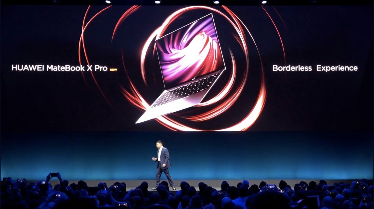 ファーウェイの新型ラップトップ「Mate Book X Pro」は、MacBook Pro 13インチよりスリム