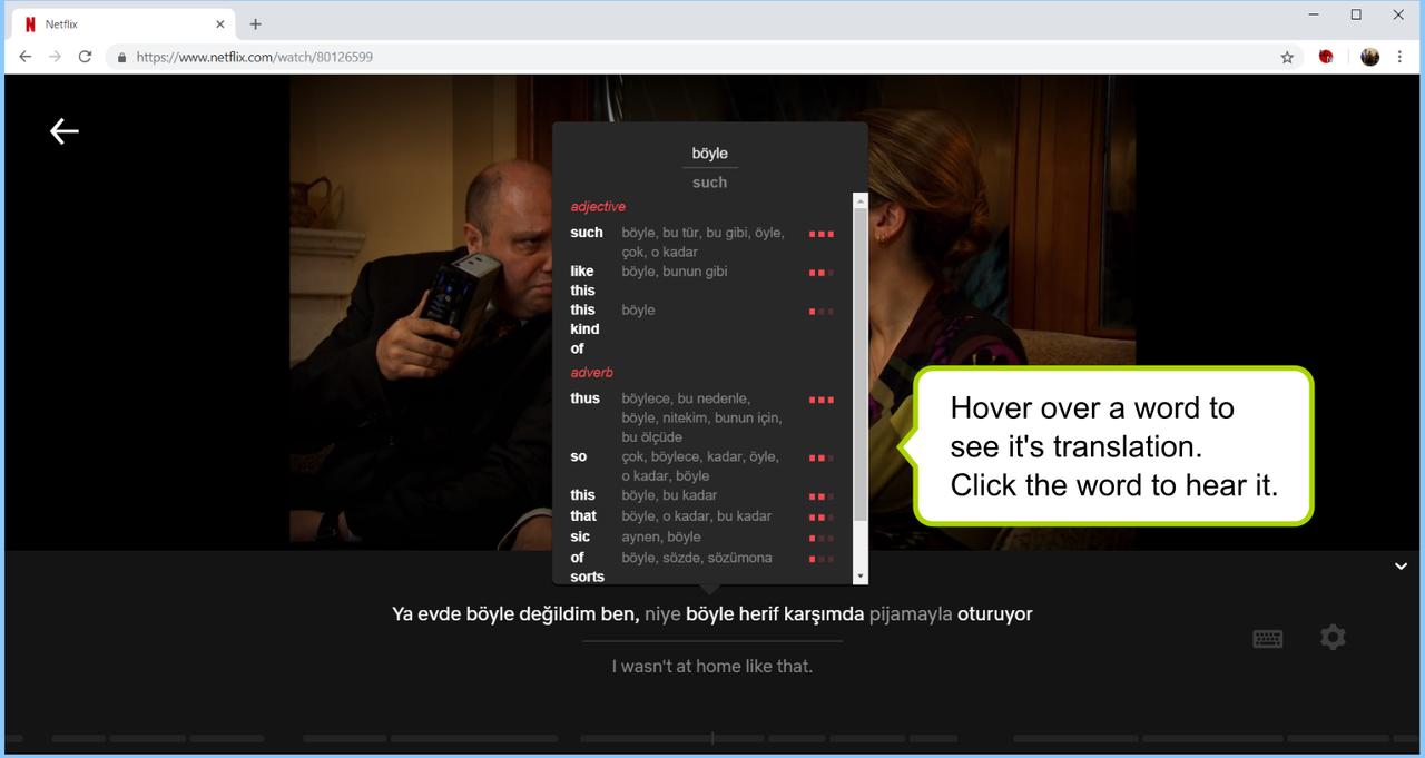 【語学】Netflixを最強の英語学習ツールに変えるChrome拡張機能が登場