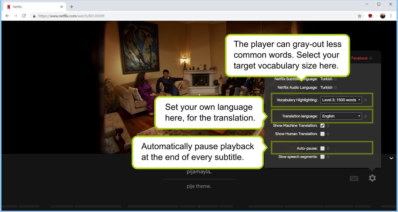 タチの良い時間泥棒ことNetflixを、最強の英語学習ツールに変えるChrome拡張機能が登場!