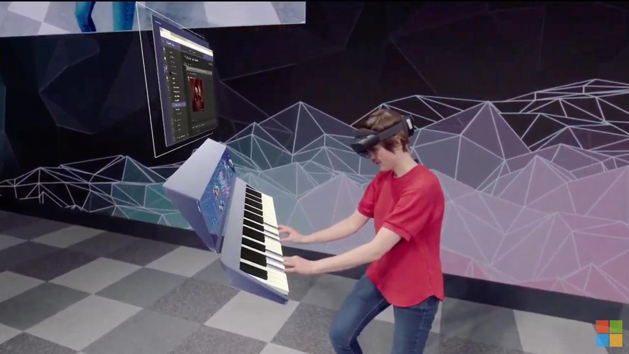 HoloLens 2ではここまで細かなジェスチャーが読み取れます