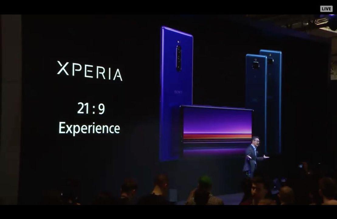 Xperia 1発表! 21:9のスーパー縦長画面に瞳AFカメラのスゴイヤツ