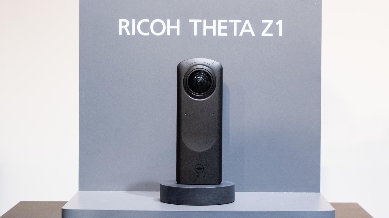 360°コンデジの最高峰。新型「リコー THETA Z1」を発表会で触ってきたよ!