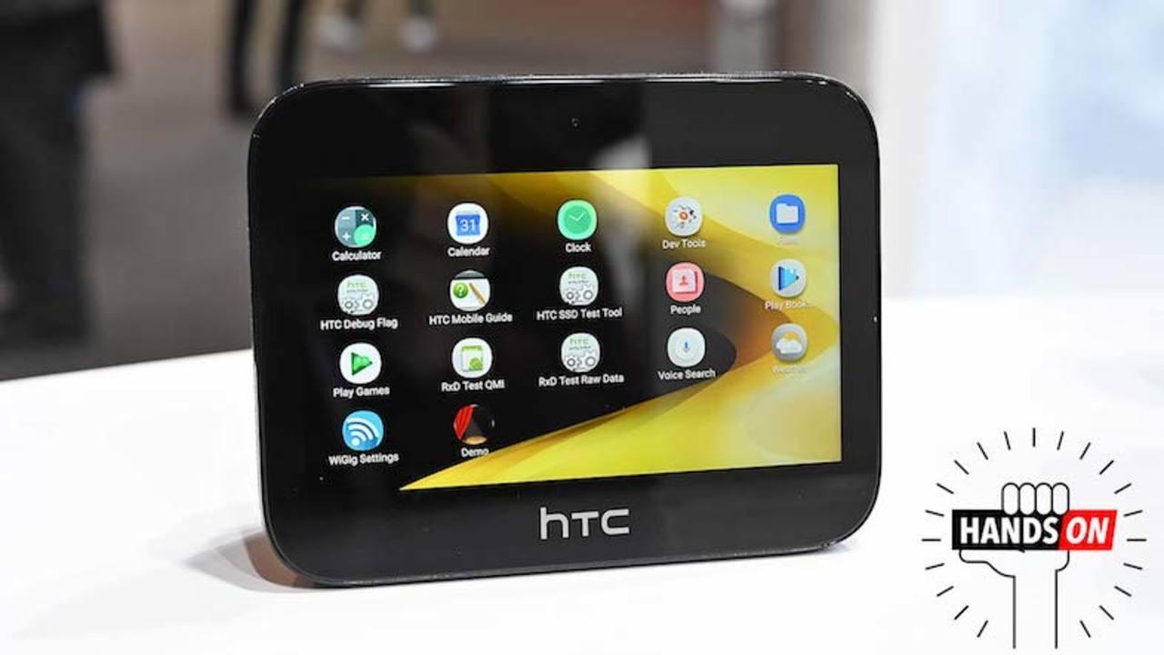 HTCの5G対応ポケットWiFi「5G Hub」ハンズオン:これはただのホットスポットではない!