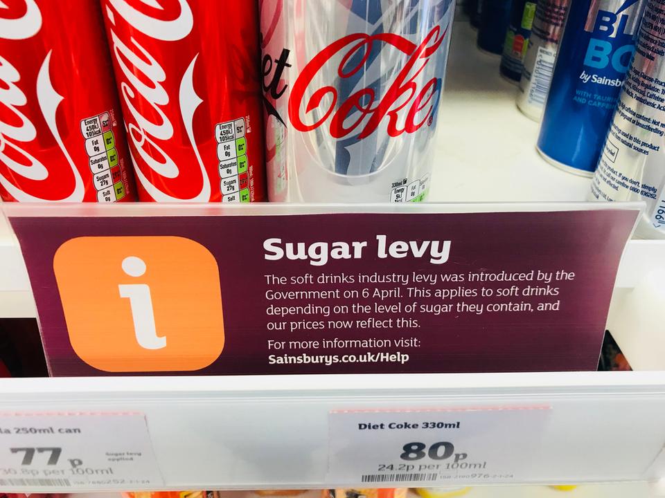 ソーダ税、みんなの健康に効果があったみたい