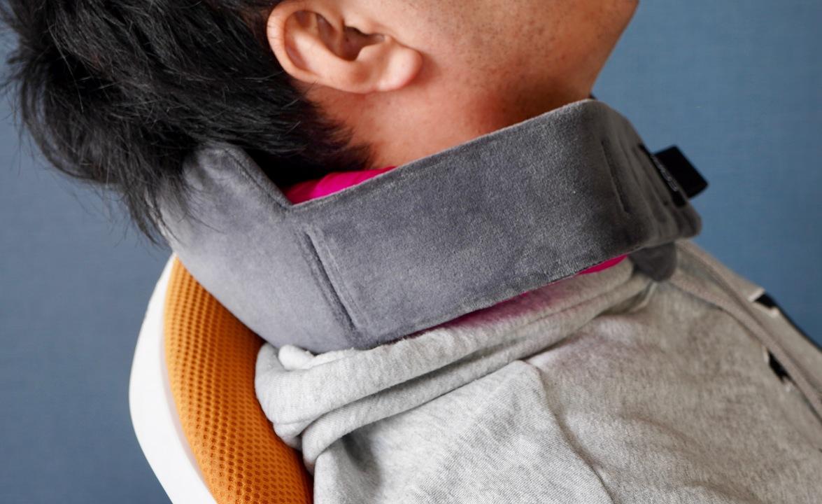 移動中の肩こり、さようなら。首にフィットする世界初のカスタマイズ型ネックピロー「Cori」がキャンペーン開始!