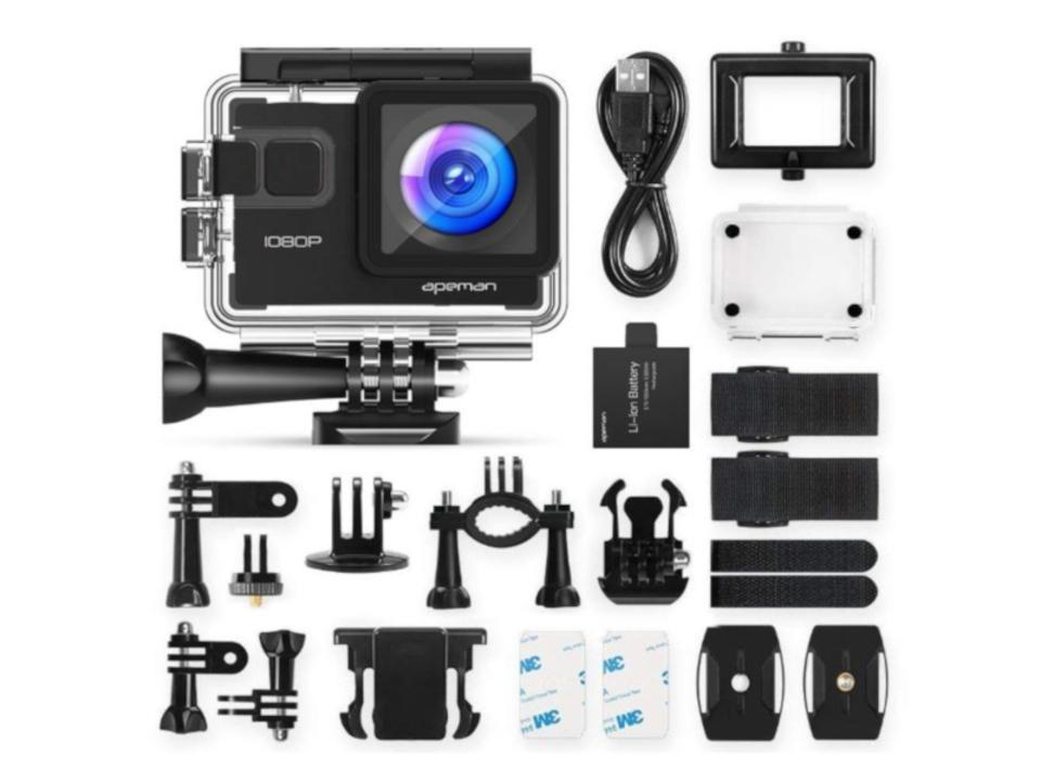 【きょうのセール情報】Amazonタイムセールで80%以上オフも! 1,000円台のアクションカメラやEMS肩マッサージ機がお買い得に