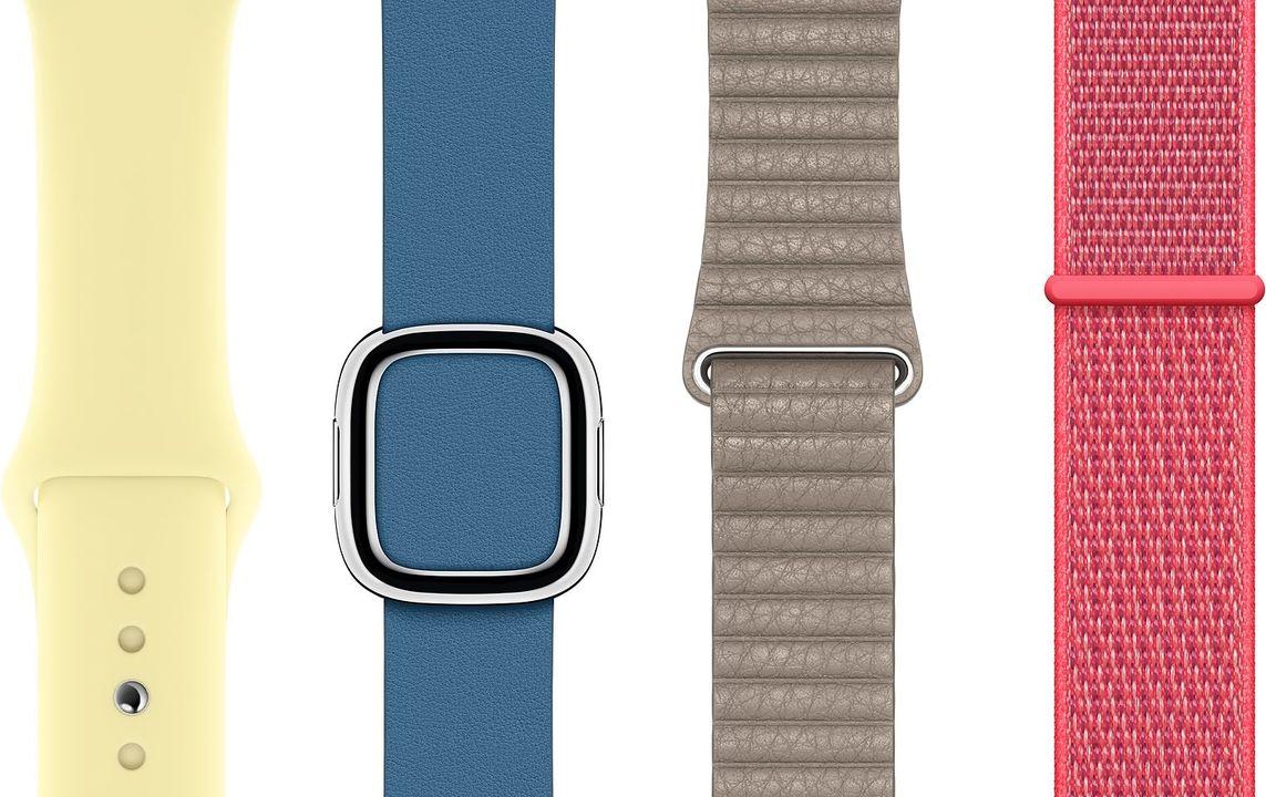 春、それは新色の季節。Apple Watchのバンドに新色追加の動きあり