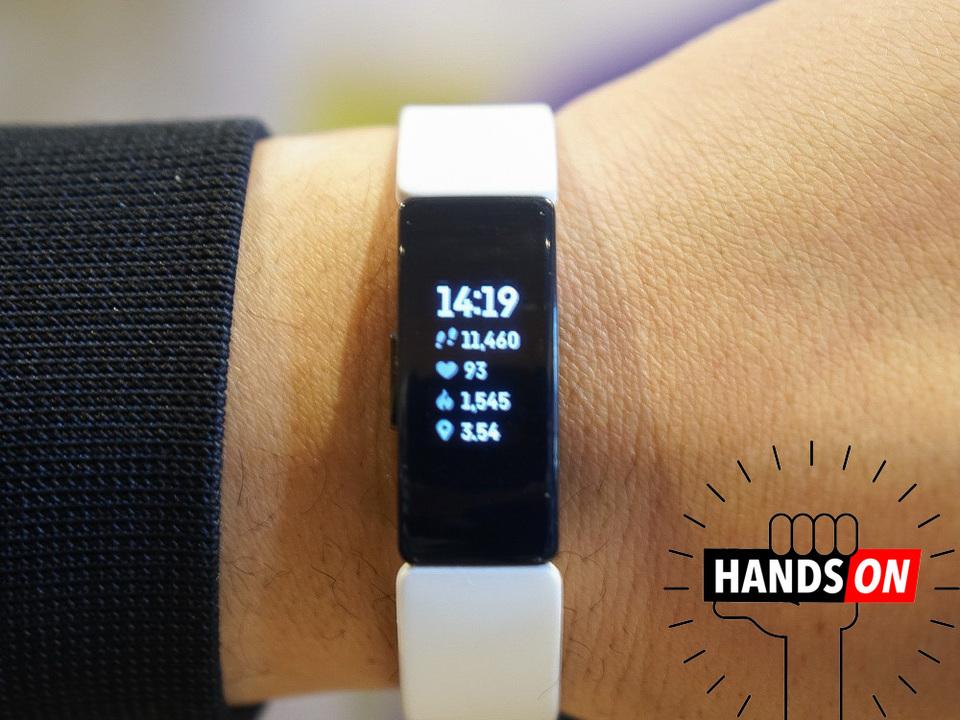 Fitbitのフィットネストラッカー「Inspire HR」ハンズオン:小さくて安くて多機能ってサイコー