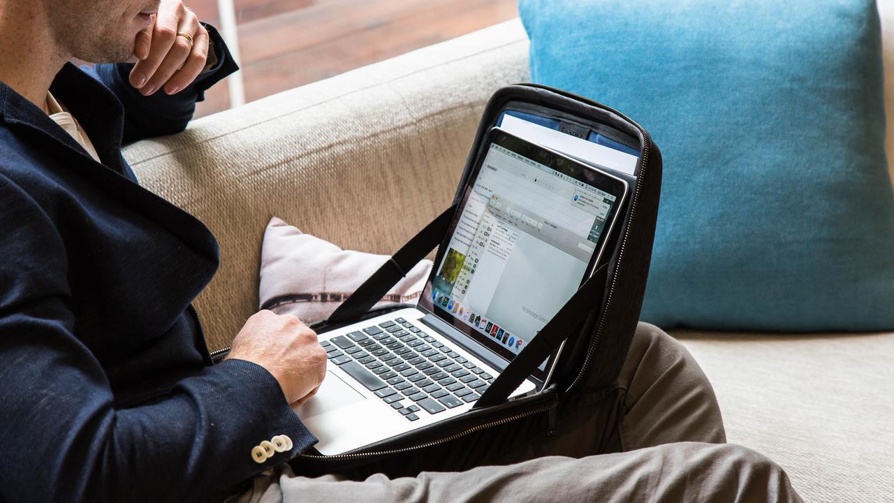 「どこでも働ける」ノートPC専用バッグ「MOBICASE」がmachi-yaにてオーダー開始