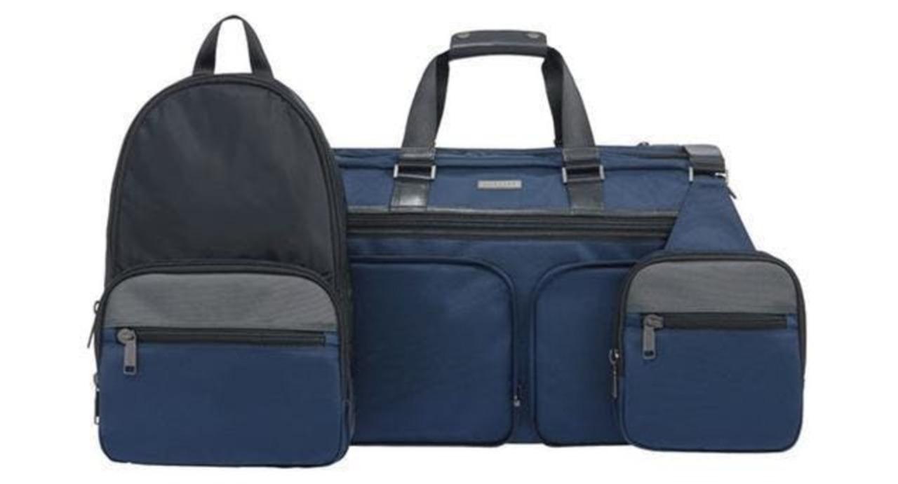 3つのバッグが合体分離するトラベルバッグ「JW Weekender」があと5日で終了