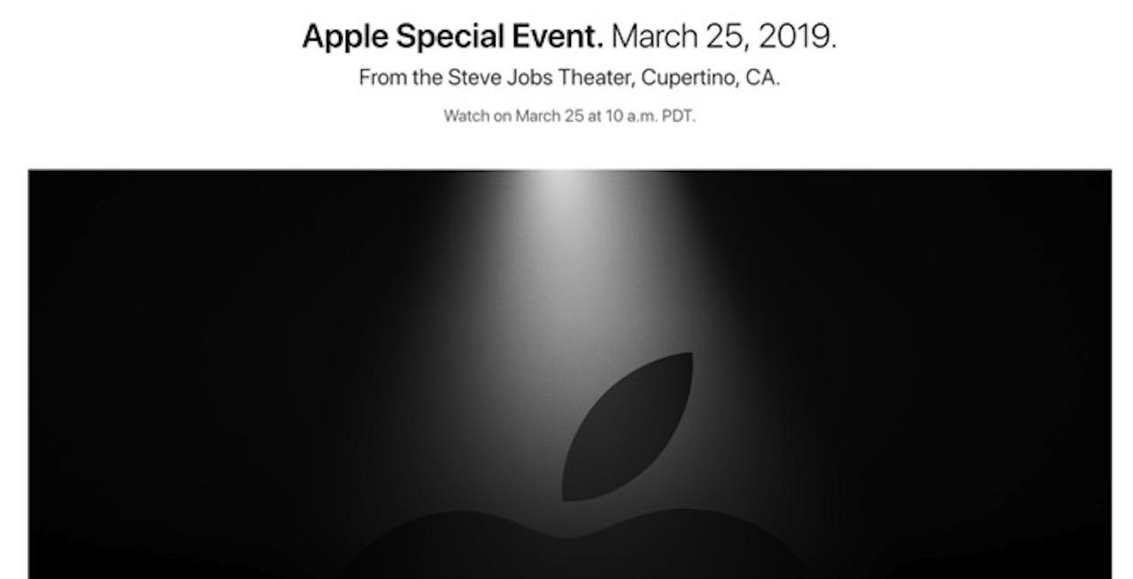 Appleが3月25日にイベント「イッツ・ショータイム」を開催