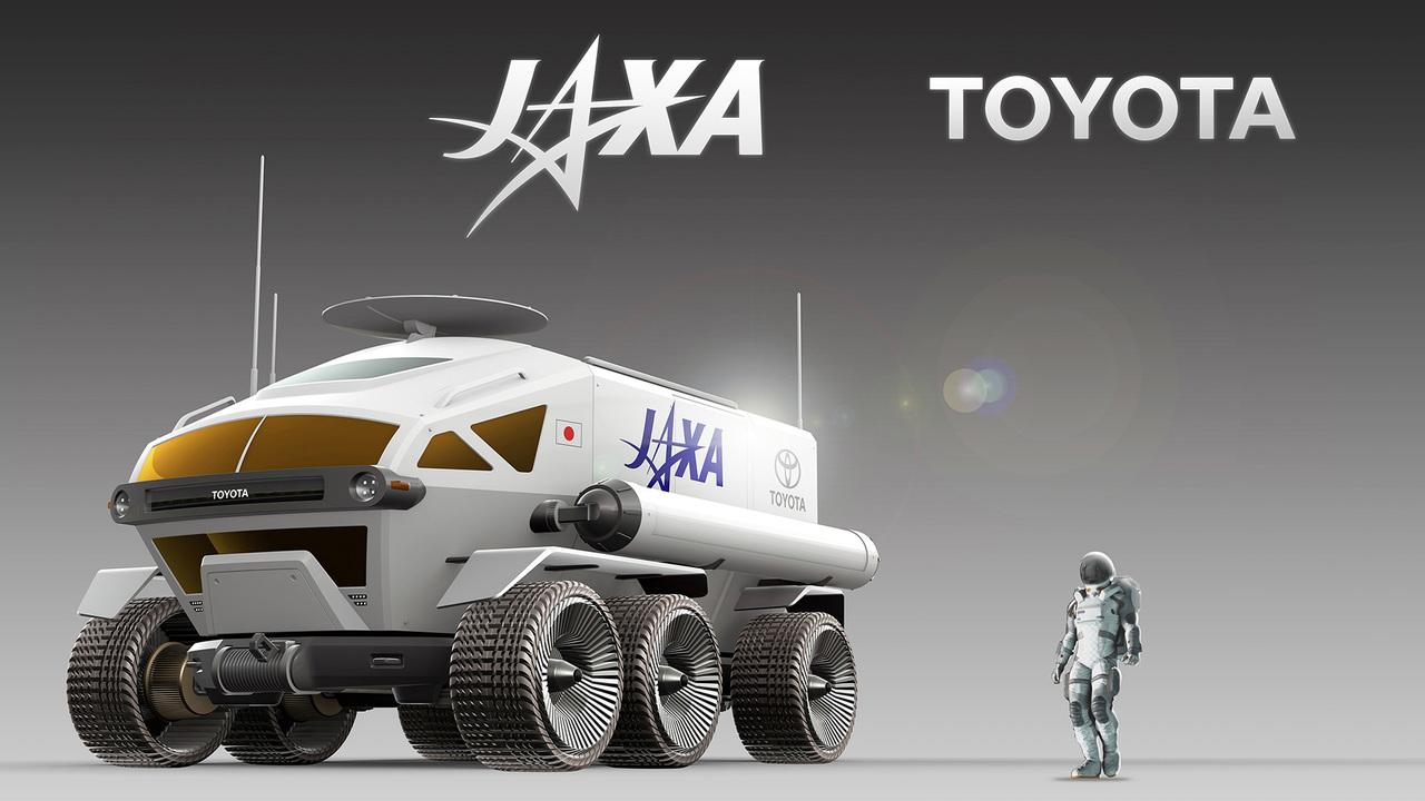 走行距離1万km以上! JAXAとトヨタが作る月面探査車「有人与圧ローバ」