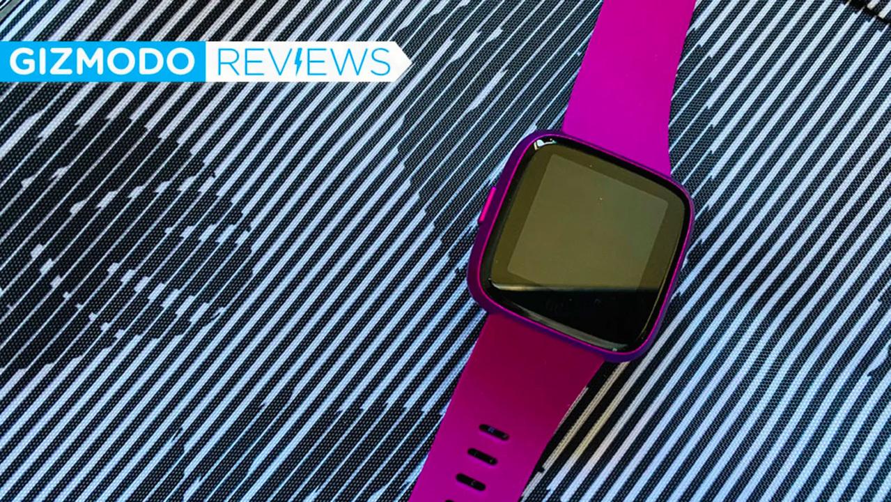 Fitbitのスマートウォッチ「Versaライトエディション」レビュー:シリーズの中でいちばん安くていちばん優秀