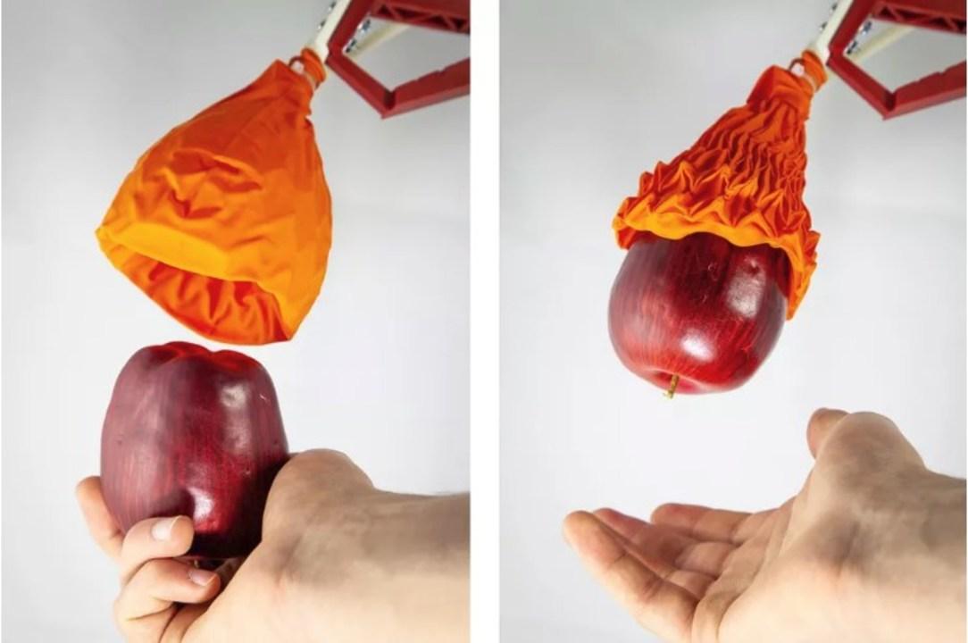 折り紙のチューリップみたい。自重の100倍の重さを掴めるロボット・ハンド