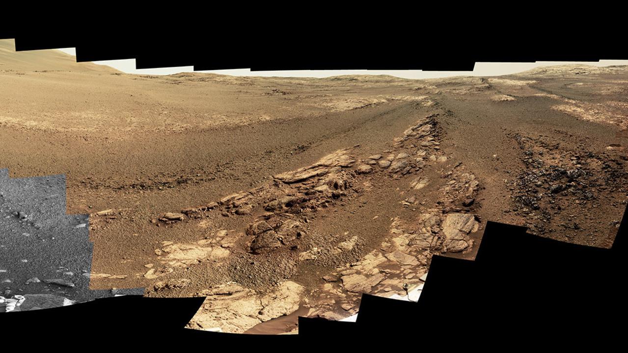 火星探査車「オポチュニティ」が撮った最後のパノラマ写真
