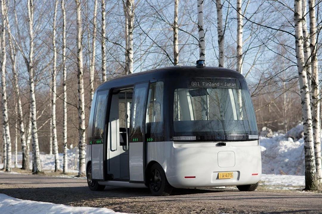 無印良品デザインの自律運転バス「GACHA」が実車デビュー