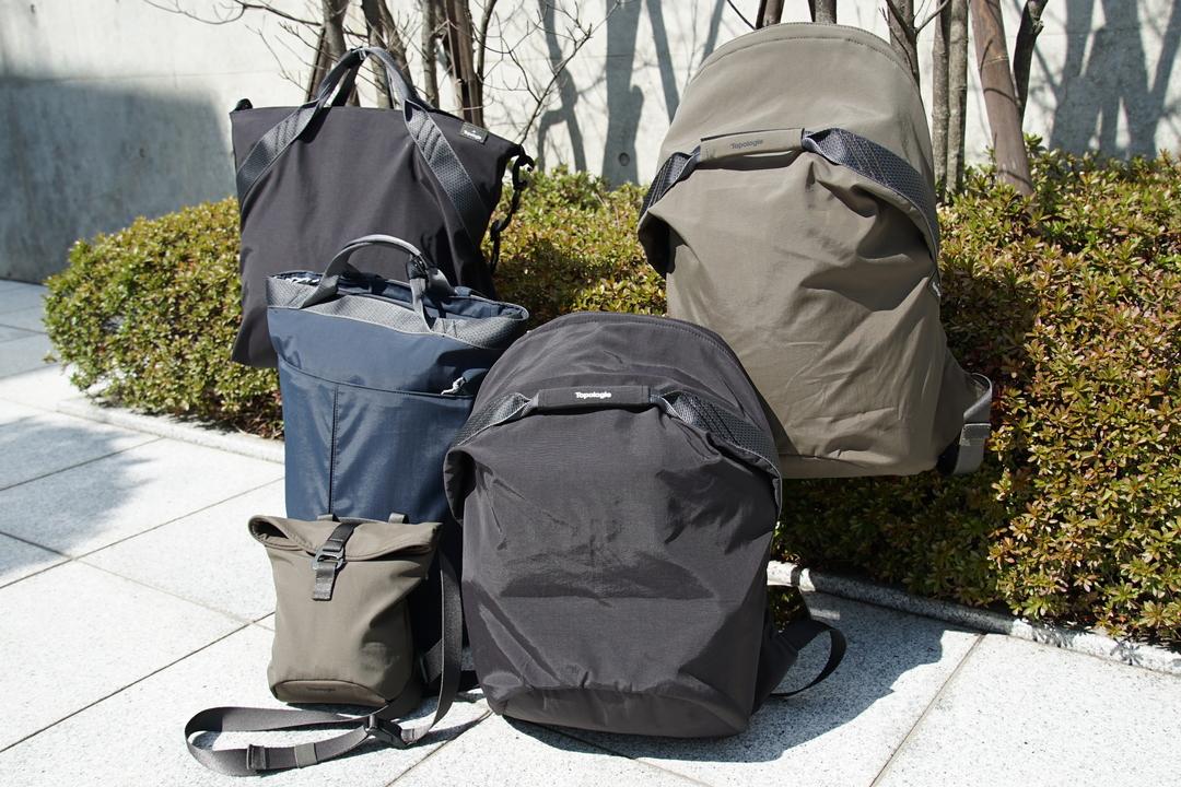 1番人気のバッグは? ロッククライミングの要素と機能性を盛り込んだブランド「Topologie」がついにAmazonに登場!