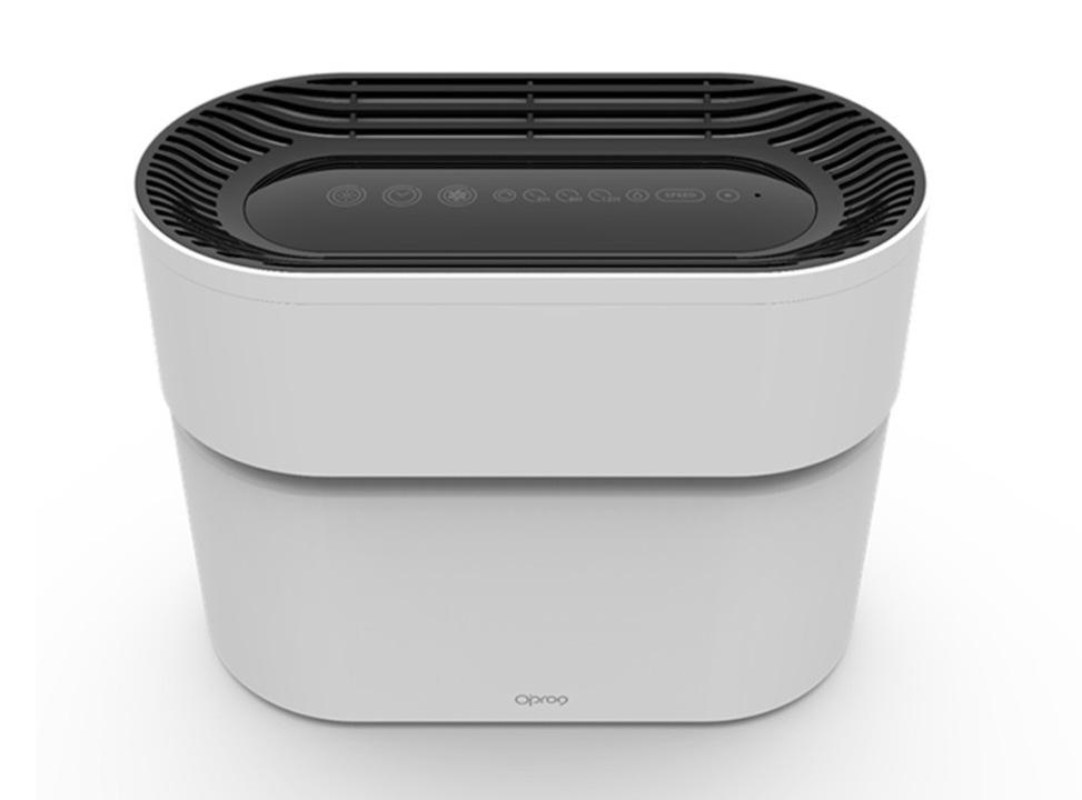 フィルター交換が不要!? 水フィルター&HomeKit対応の空気清浄器「Opro9」