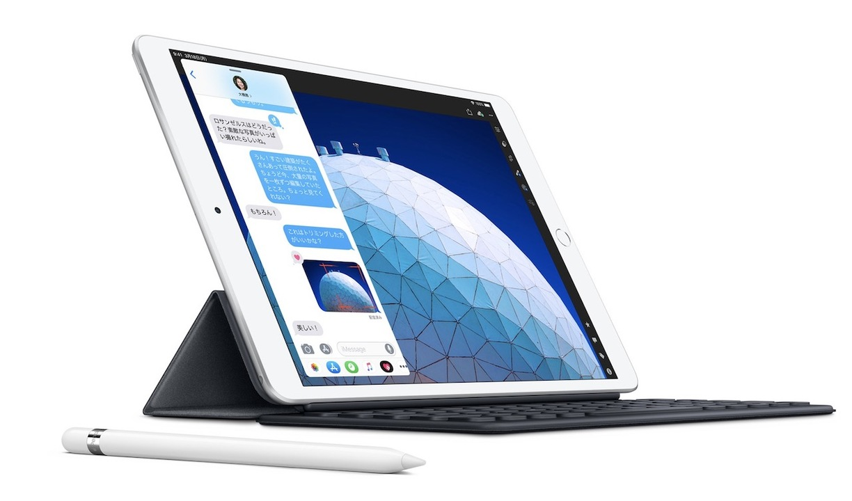 おニューな「iPad Air」登場! Apple PencilもSmart Keyboardも使えるぞ!