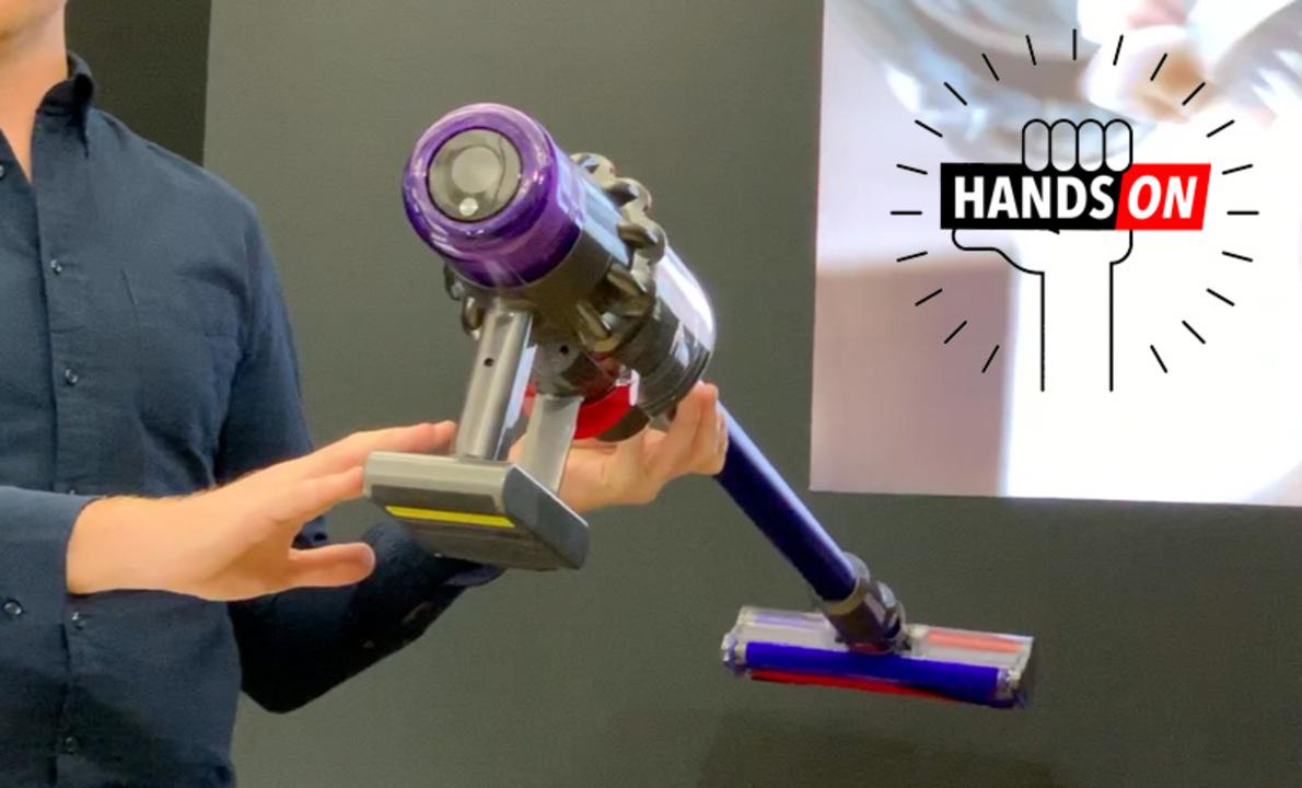 ダイソンの新作コードレス掃除機「Dyson V11」ハンズオン:まさに完全体。静かになったうえに液晶までついた!