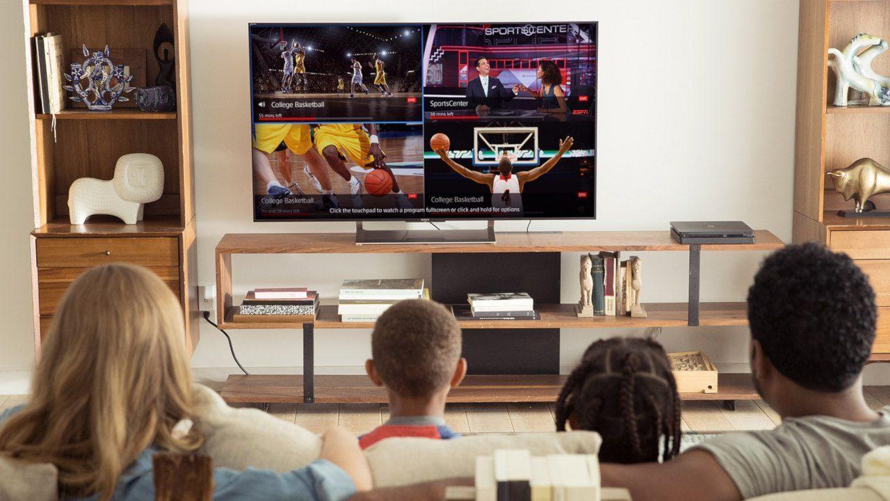 Apple TVで4画面分割、うらやましい
