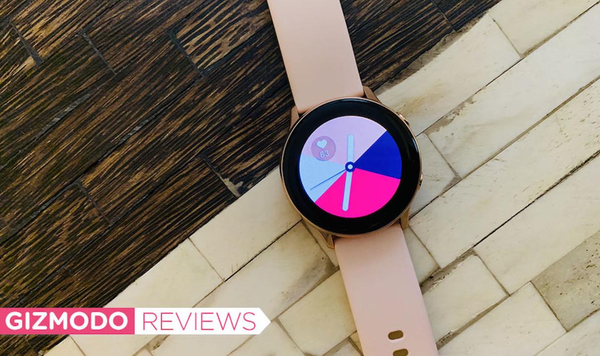 Galaxy Watch Activeレビュー:ほぼ完ぺき…ヘルストラッキング以外は
