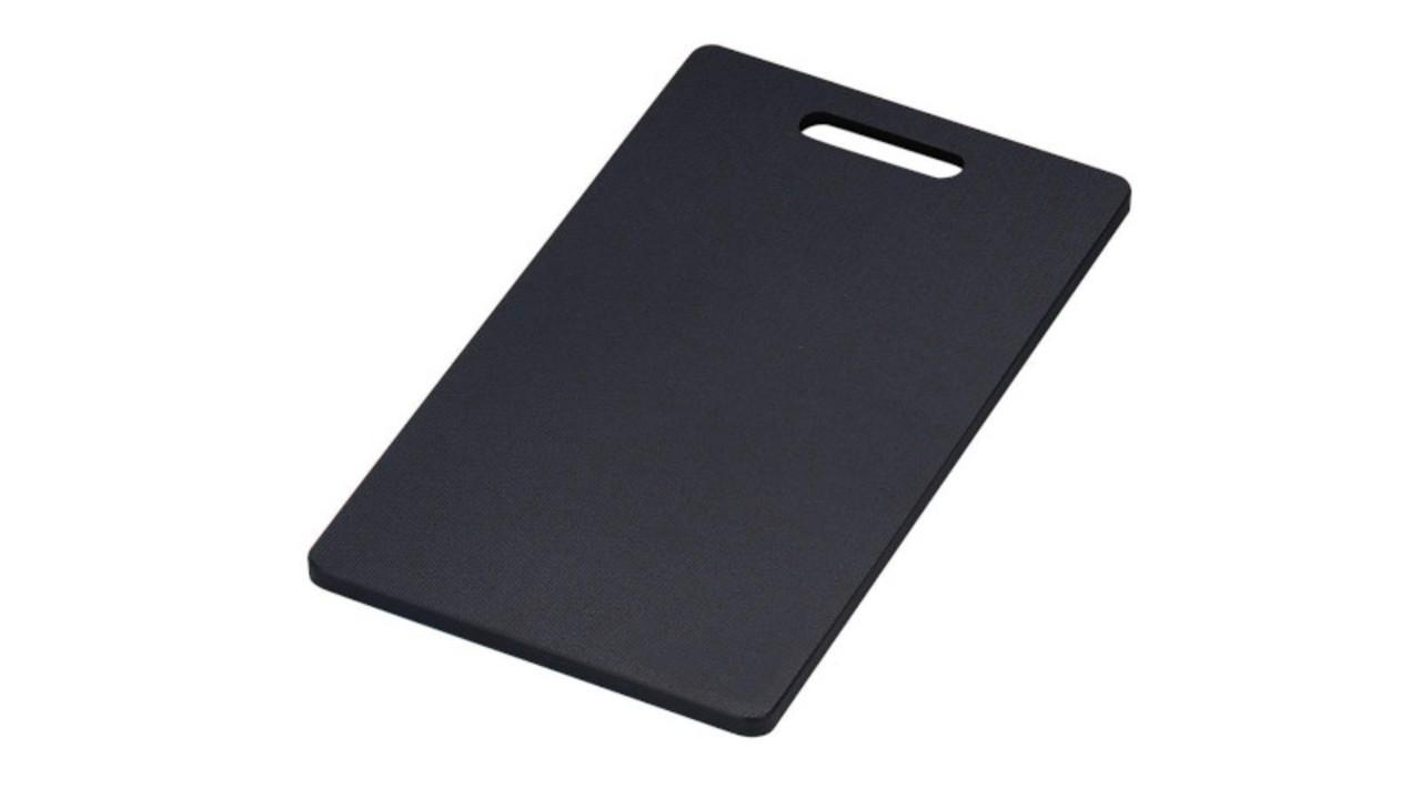 黒いまな板って、機能的。ちょっと使ってみたい!