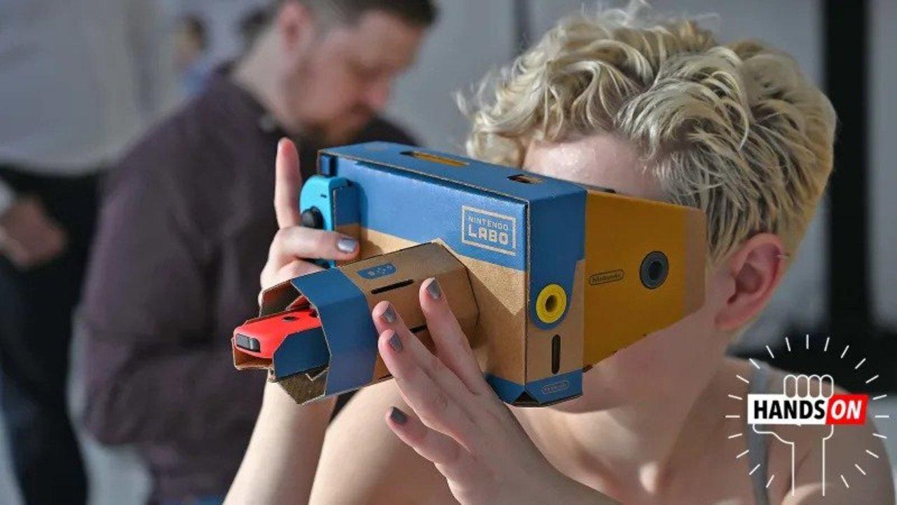 ダンボールでここまでやれるとは : Nintendo Labo VR Kitハンズオン