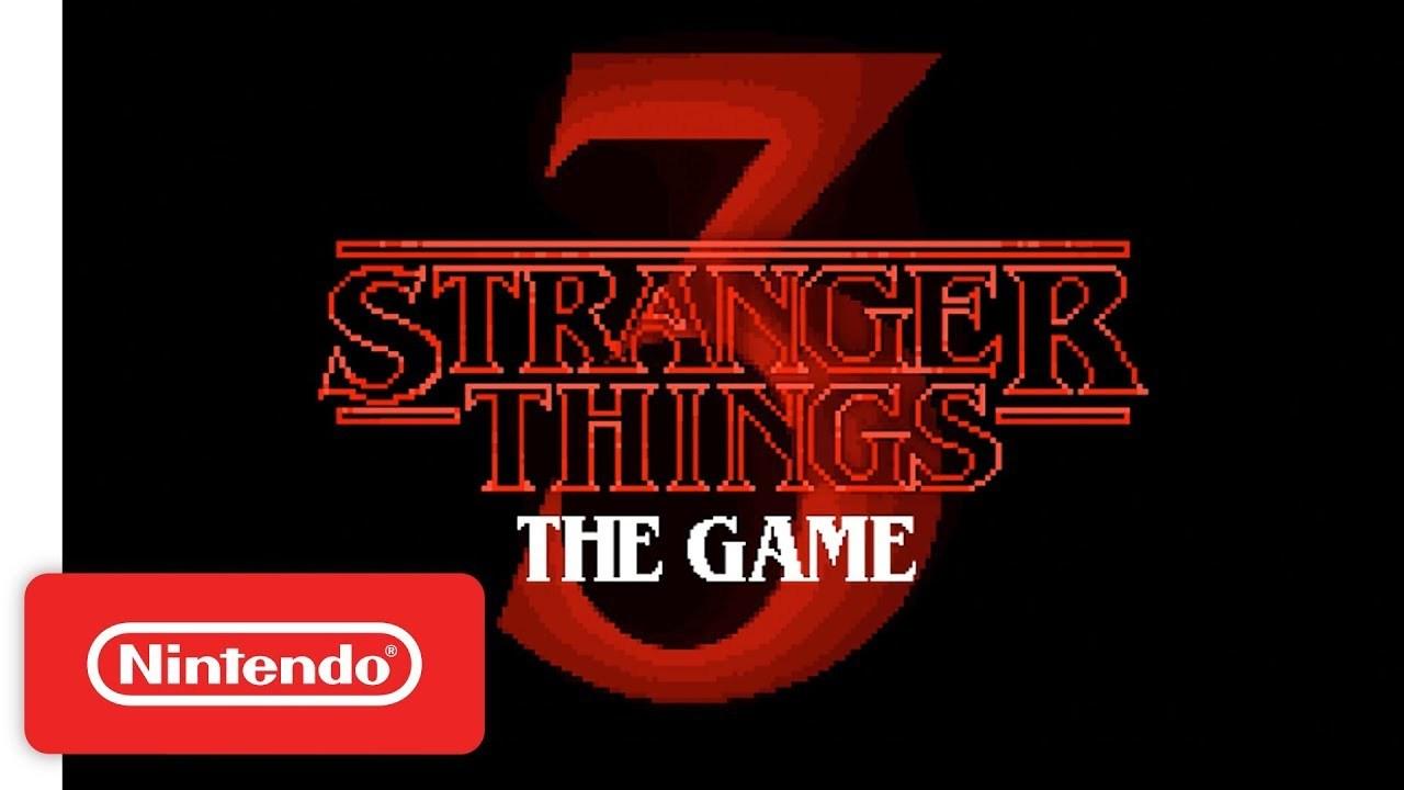ニンテンドースイッチ用にゲーム『ストレンジャー・シングス3』がくる!