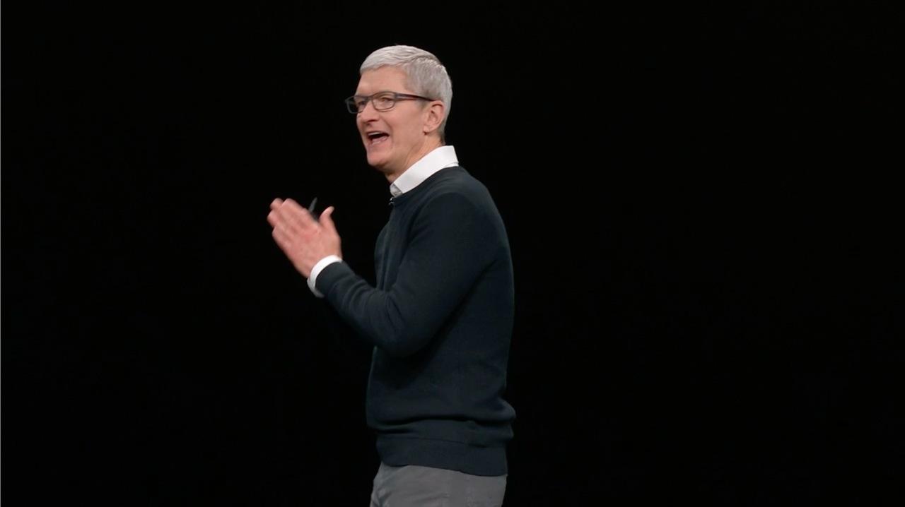 今日のイベントは、Appleの主軸が非物理に移ったというステートメントだった